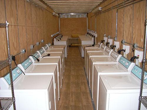 Mobile Laundry Trailer Units Laundry Trailer Rentals